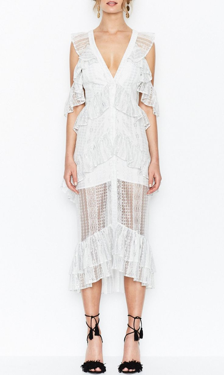 Alice McCall Melody Dress - Silver