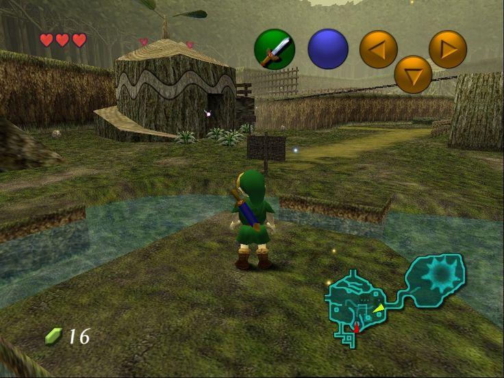 The Legend of Zelda: Ocarina of Time - N64