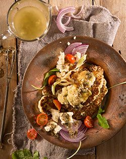 Checkers - Better and Better   Braid cauliflower with caper and mustard dressing @Checkers.co.za #braai