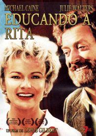 DVD CINE 1882 - Educando a Rita (1983) Reino Unido. Dir.: Lewis Gilbert. Comedia. Romance. Sinopse: Rita é unha perruqueira que, aburrida coa súa vida e angustiada polas presións do seu marido para que teña fillos, apúntase a clases de literatura na universidade para sentirse mellor consigo mesma.