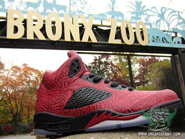 Online sales Nike Air Jordan 5 Retro Ragelab5 Customs