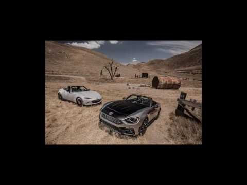 2017 Fiat 124 Spider Abarth vs  2016 Mazda MX 5 Miata Club