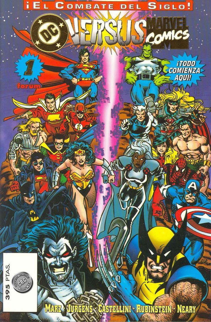 Marvel  vs DC [Completa][Comics][español][cbr]