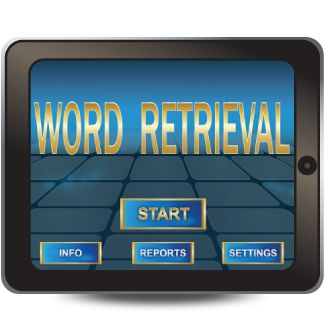 Word Retrieval was built around research on remediation of word retrieval difficulties to help children and adults organize their lexicons through activities including confrontational naming, associations, and divergent and convergent naming to improve their abilities to access already known words and increase their retrieval of words. http://www.virtualspeechcenter.com/Styles/images/powerful/word_retrieval.png