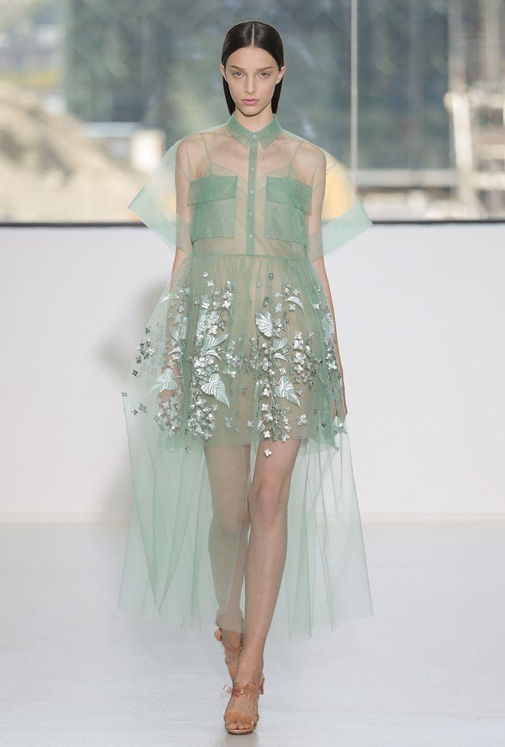 Cotton Embroidered Stars Dress Spring/summer Delpozo Y4inDsRsIU