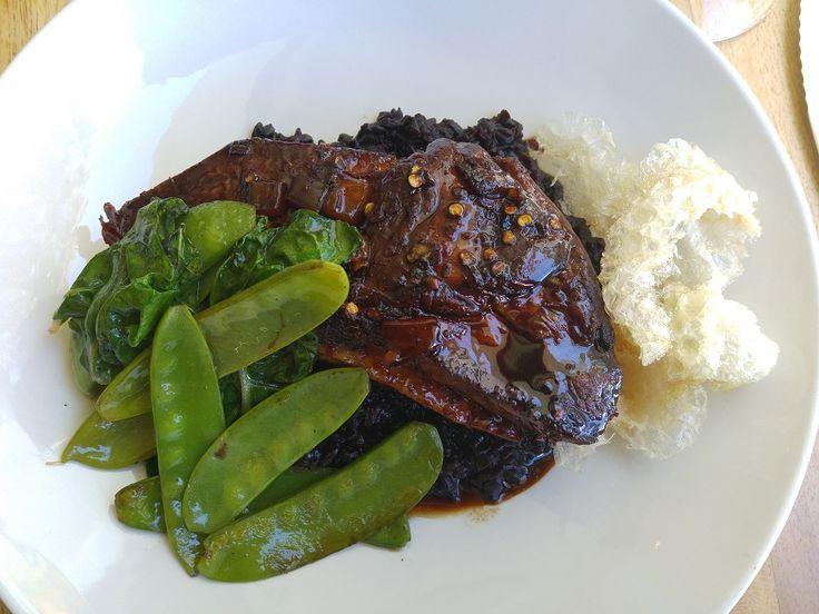Pork Belly at Bistro 13, Stellenbosch
