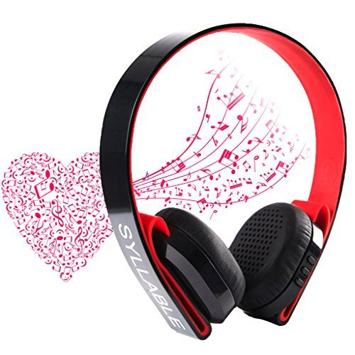 Special Offers - Syllable G600 HIFI Wireless/Wired Bluetooth 4.0 Stereo Noise Cancelling Noise Reducing Reduction Ear Muffs Over Ear Headphone Earphone Deep Bass Built-in Mic / 40mm Speaker for Devices with 3.5mm Jack/Bluetooth Such as iPod MP3 MP4 iPhone Smartphone Laptop PC Tablet PSP (Black) - In stock & Free Shipping. You can save more money! Check It (June 06 2016 at 05:00AM) >> http://ift.tt/1sZAT2M