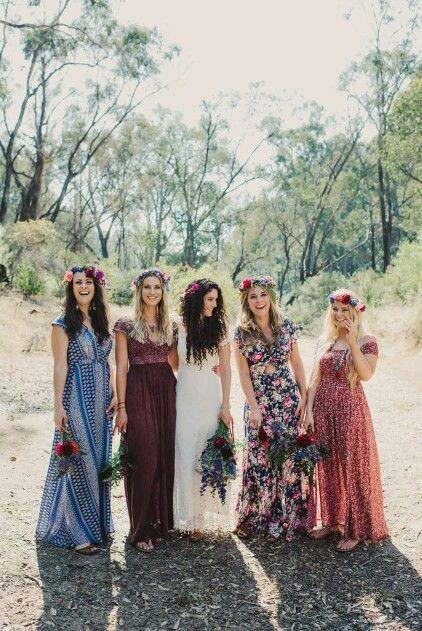 ☮ American Hippie Bohéme Boho Style ☮ Wedding Friends