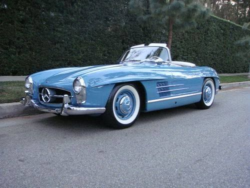 1958 Mercedes-Benz 300SL Roadster - I really, really want one (please, Santa!)