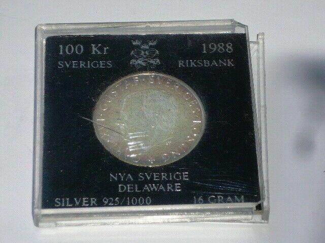 Schweden 100 Kronen 1988 Silber 16gramm Celestial Bodies Silver Popsockets