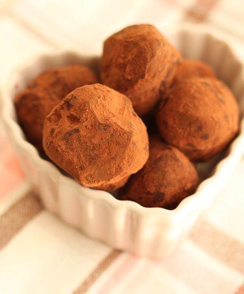 veganska chokladtryfflar