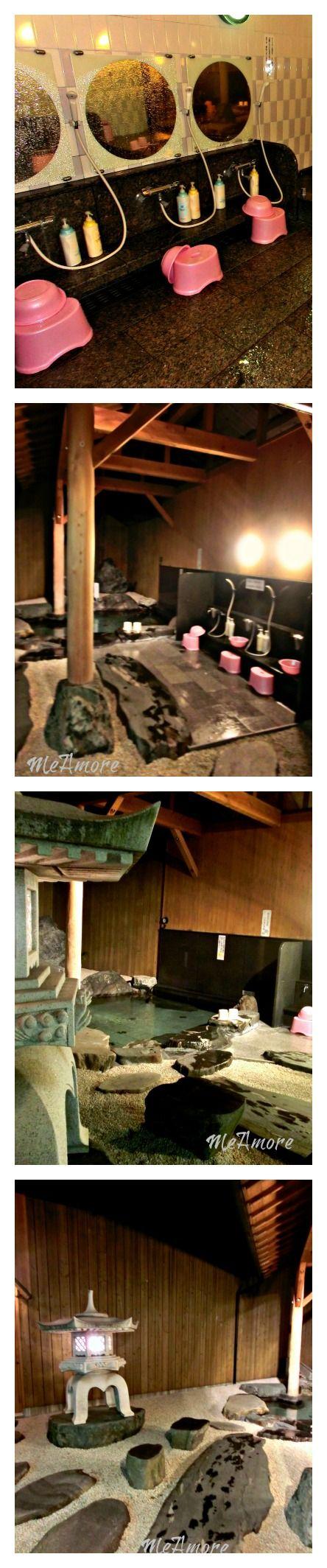 Japanese Public Bath  Onsen