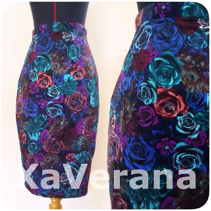 Rose skirt (midi) Bahan katun stretch Tebal dan adem  IDR 288.000