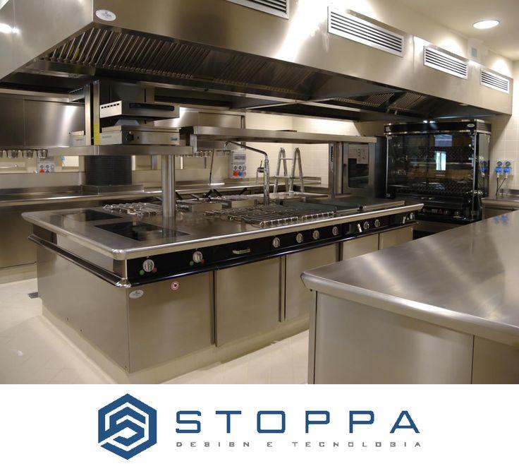 Boscareto Resort - Kitchen by Stoppa Design e Tecnologia  The best Kitchen Equipment for your Kitchen.