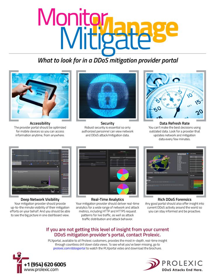 What To Look For In A DDoS Mitigation Portal - Often the customer portals of DDoS mitigation providers offer limited visibility to mitigation activities and out-of-date metrics.  - sponsored
