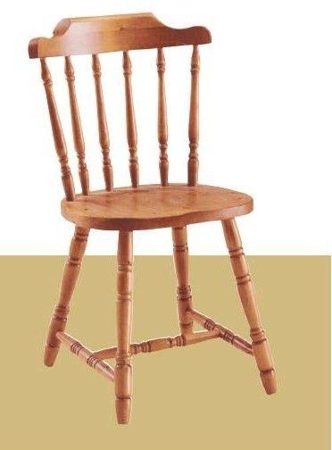 Sedia in pino massiccio modello Old America. Produzione e vendita mobili rustici DEMAR MOBILI PINO. #sedie #mobilipino #contract #arredamentirustici #legnomassiccio www.demarmobili.it