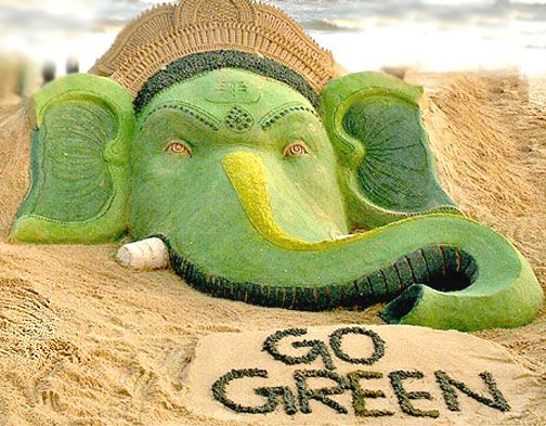 This #GaneshChaturthi let's all pledge to celebrate the festival of Lord #Ganesha in an eco-friendly manner.