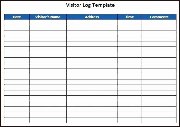 Visitors Signing In Sheet Template Awesome Visitors Log Template Tucsontheaterfo Sign In Sheet Template Sign In Sheet Address Label Template