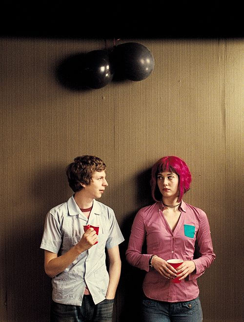 ">> ""When I'm around you, I kind of feel like I'm on drugs. Not that I do drugs. Unless you do drugs, in which case I do them all the time. All of them."" - Scott Pilgrim // film"