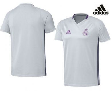 Camiseta infantil de entrenamiento Real Madrid 2017