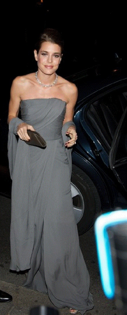Charlotte Casiraghi Attends 'Cartier Exhibition' Gala Presentation in Madrid on 22 Oct 2012