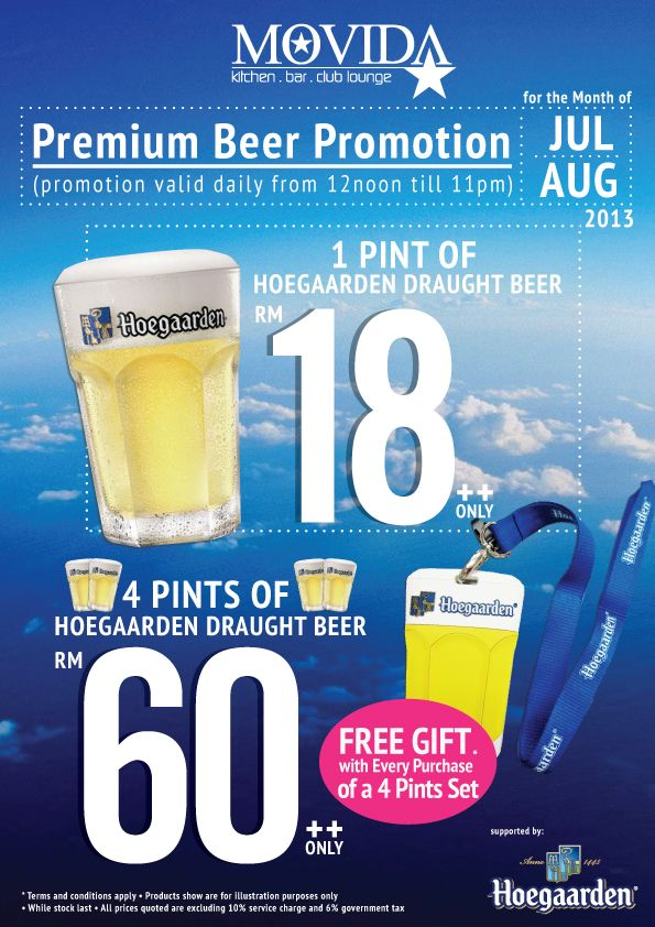Hoegaarden Draught Beer Promotion