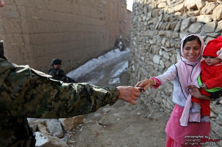 아프가니스탄 오쉬노부대 경호경비중대