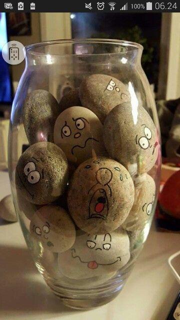 Male på sten