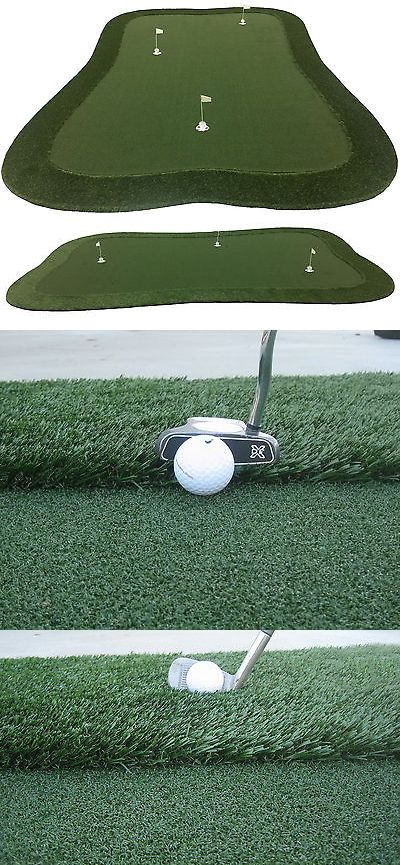 Putting Greens and Aids 36234: 10 X 15 Professional Synthetic Grass Turf Practice Putting Green With Fringe -> BUY IT NOW ONLY: $1499.99 on eBay!