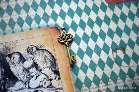 """Фотоальбом ручной работы """"Алиса в стране чудес"""". Книжный переплет. Формат альбома А 4. ,12 страниц ,страницы раскладываются , на ..."""