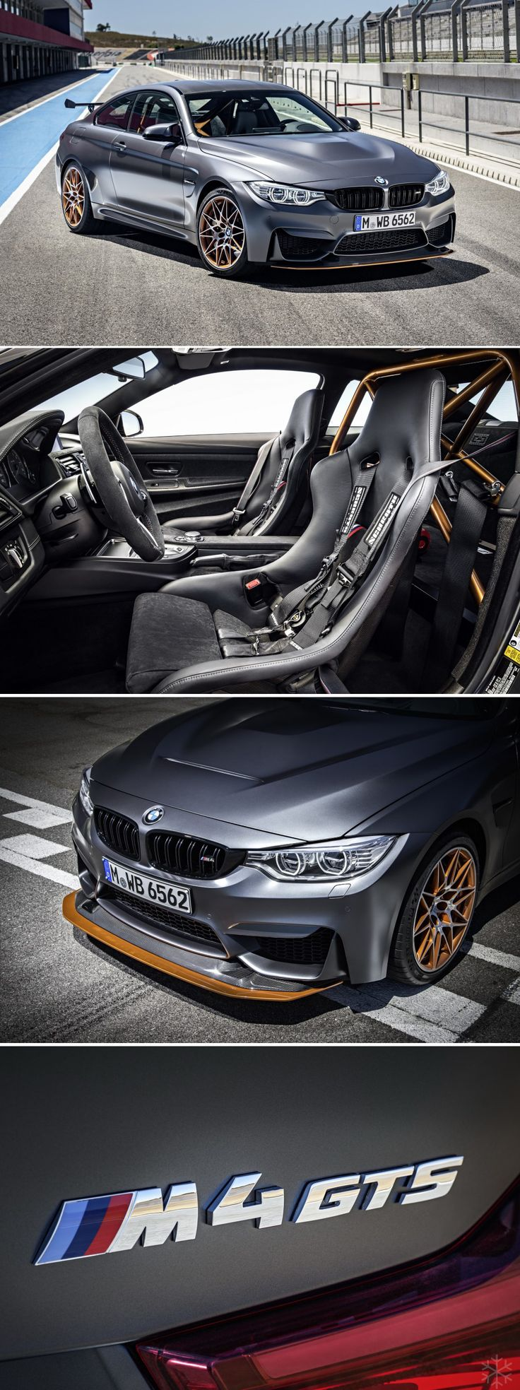 BMW M4 GTS - uprated 493bhp straight-six engine (0-62mph in 3.8s) & lightweight carbon fibre body parts - List Price £121,770 - The lightweight road car debuts a variety of BMW firsts, including OLED light tech and an innovative water injection system. The latter cleverly cools the air feeding the turbo – resulting in a massive power increase without any noticeable disadvantages in terms of fuel economy #specialedition...x