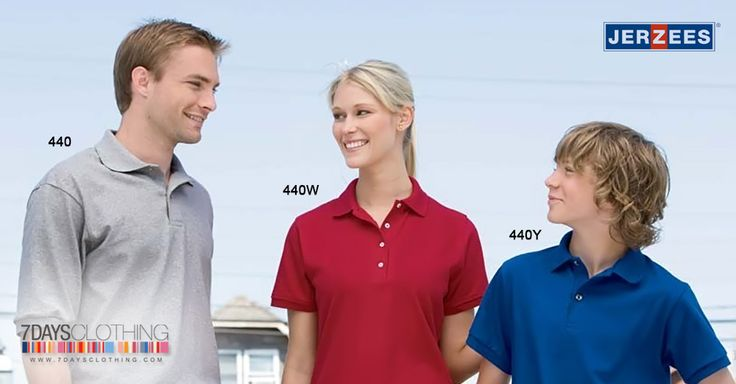 Wear jerzees clothing for sports or casual