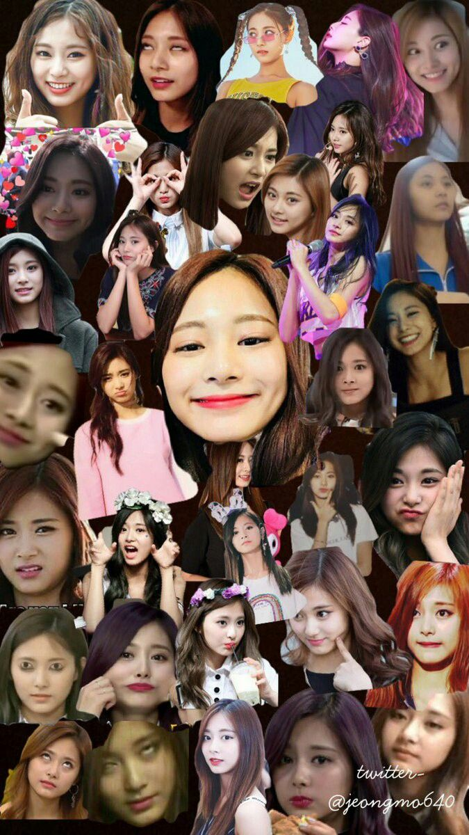 Collage Wallpaper Twice Tzuyu Meme collage wallpaper lockscreen HD Fondo de pantalla iPhone X Wallpaper 518125132127061611