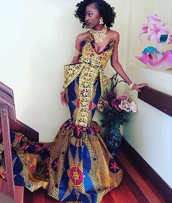 Kente dress