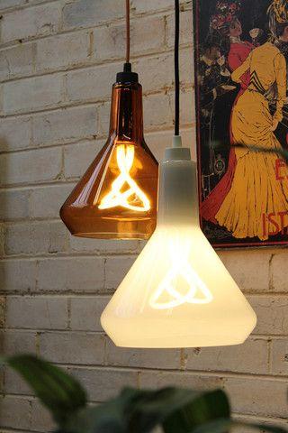 Plumen Drop Top Lamp Shade. Includes Plumen light bulb. - Fat Shack Vintage - Fat Shack Vintage