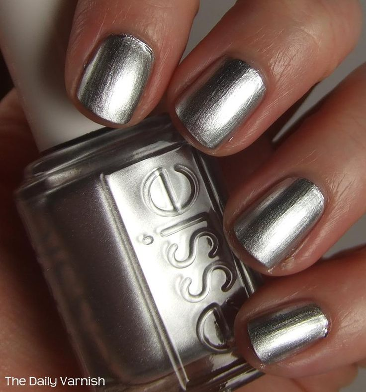 Essie Mirror Metallics No Place Like Chrome: Nail Polish, Essie Mirror, Mirror Mietallics, Places, Nails, Nail Art