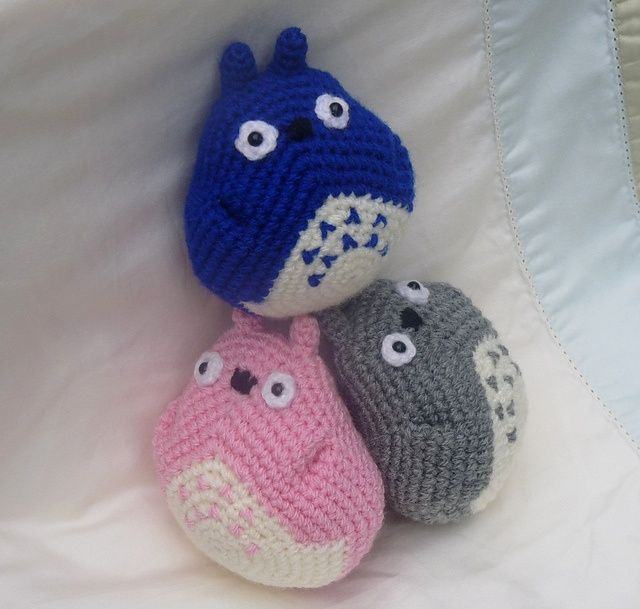 Totoro Amigurumi Ravelry : 17 Best images about Totoro cute craft on Pinterest ...