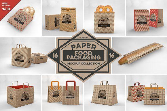 Download Vol 16 Food Box Packaging Mockups Food Box Packaging Packaging Mockup Free Packaging Mockup