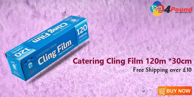 Order Catering Cling Film 120m *30cm and Get 50% Off On this Product