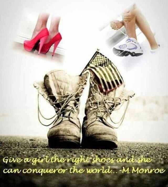 Give A Girl The Right Pair Of Shoes
