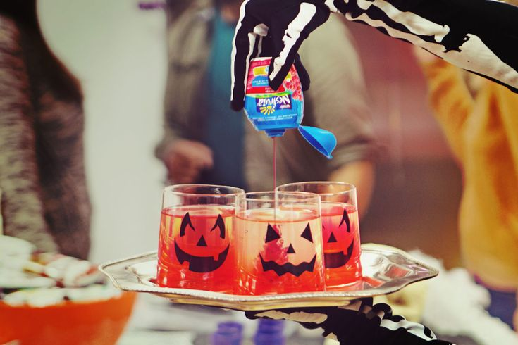 NESFRUTA RedRum A killer cocktail for your Halloween party!