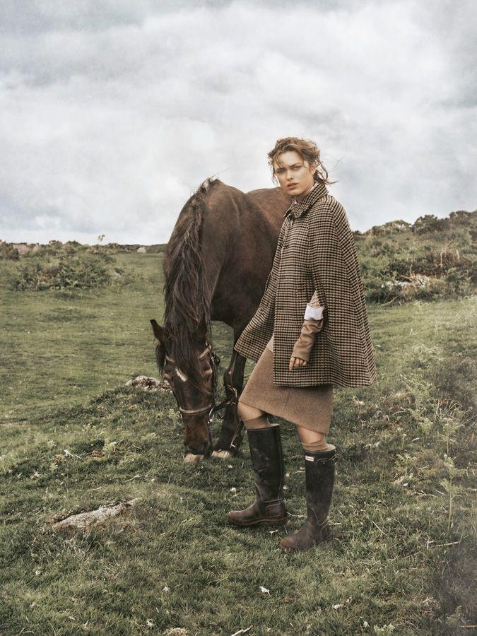 country girl: sophie vlaming by carl bengtsson for elle germany november 2014