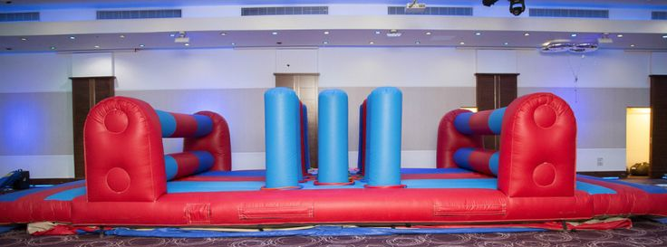 #inflatable #obstaclecourse #race #partyideas #sharkyandgeorge