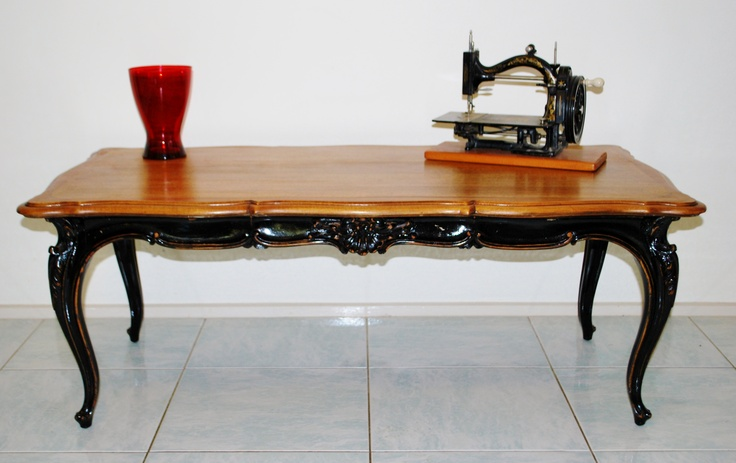 French Noir coffee table