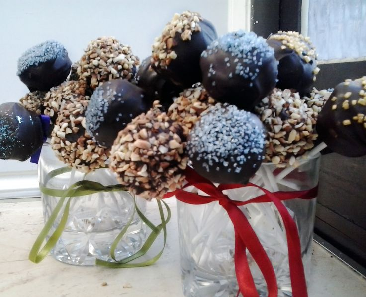 Delicious vegan cake pops!!