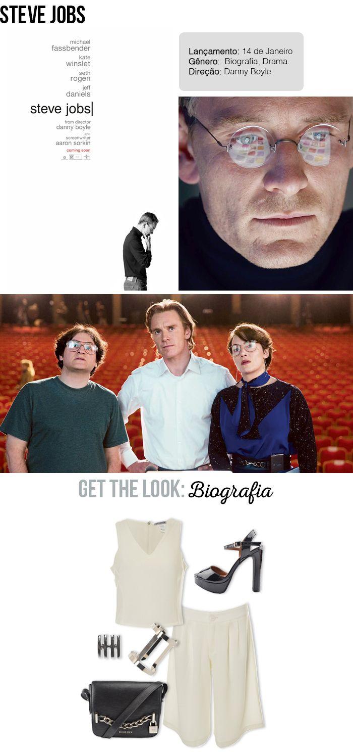 Get the Look: Biografia   Filme Steve Jobs   As melhores estreias do cinema em Janeiro #look #moda #cinema #filme #outfit #looknowlook