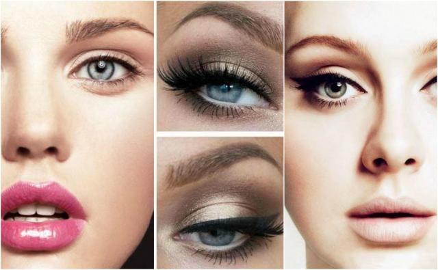 Perfekcyjny makijaż dla różnego kształtu twarzy. Galeria zdjęć