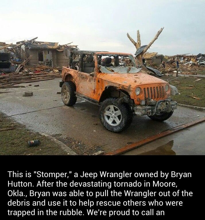 Only in a jeep :)