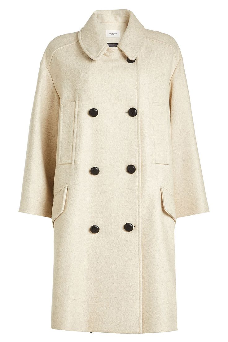 Coat with Wool - Isabel Marant Étoile | WOMEN | IT STYLEBOP.COM