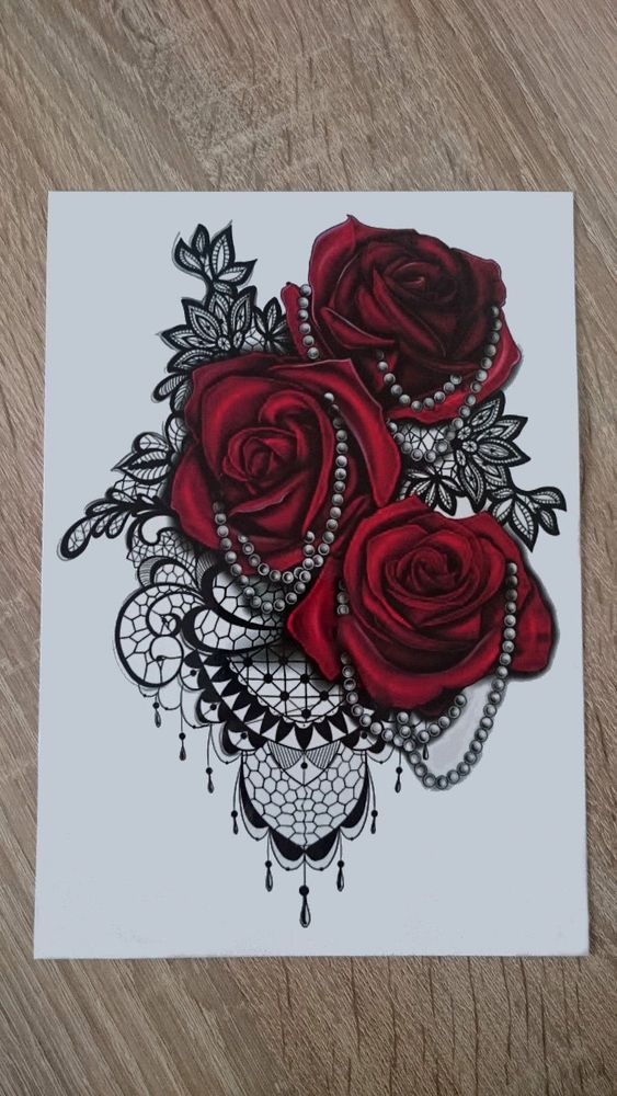 Fake Sexy Roses Tatto Design Waterproof Temporary Tattoo Sticker For Body Art. Price is for 1 item. Wait 10 seconds, then rub gently and repeatedly with more until removed. Dab tattoo with rubbing alcohol or baby oil. | eBay!